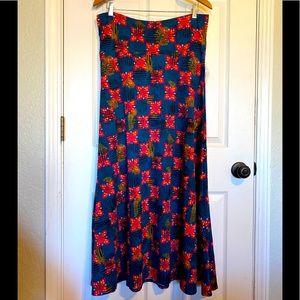 NWT LulaRoe Maxi Skirt Size Large